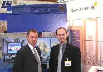 siton und Deutsche Leasing auf der resale 2007 in Karlsruhe